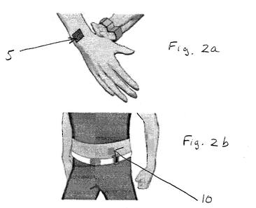 Nokia's vibrating tattoos patent