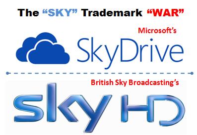 Microsoft Sky Drive vs. Sky Trade mark Infringement case