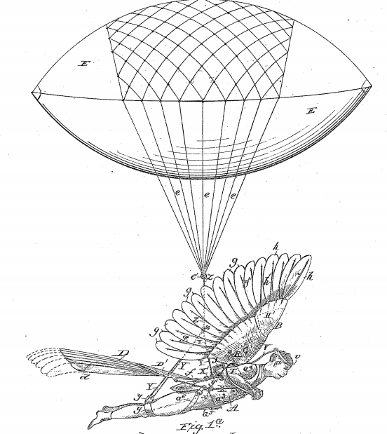 Ammusing Fly Machine patent