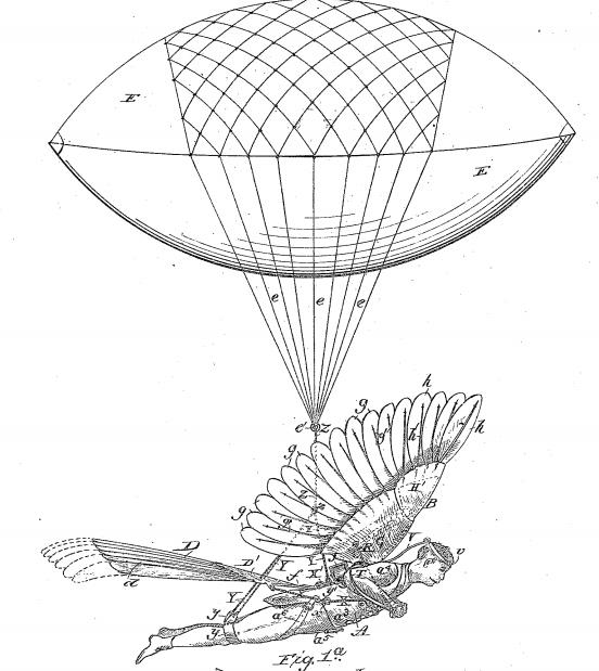 Ammusing Fly Machine patent
