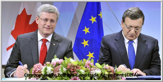 Comprehensive Economic and trade Agreement (CETA) Canada & Europe