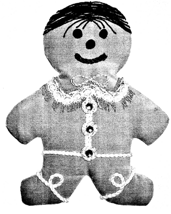19. USD0535908S 2007-01-30 Christmas ornament in the shape of a gingerbread cookie