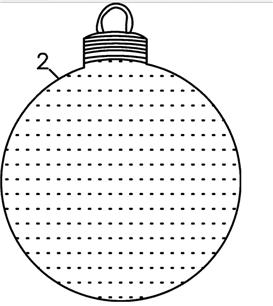 3. CN203153361U 2013-08-28 Christmas ball pendant serving as Christmas tree ornament