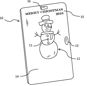 5. US20130021788A1 2013-01-24 Personal Energy Christmas Ornaments