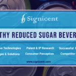 HEALTHY REDUCED SUGAR BEVERAGES - Technology & Market Research report by Signicent