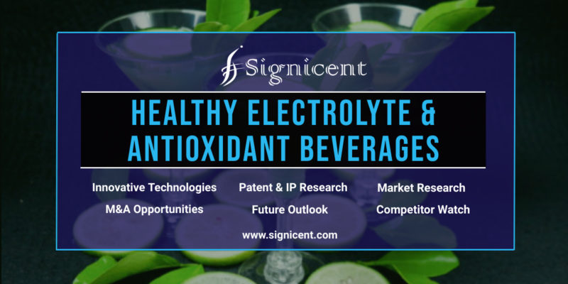 Healthy Electrolyte & Antioxidant Beverages