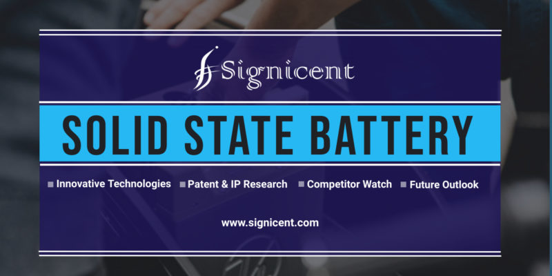 Solid-State Battery in Electric Vehicles: Technology Innovations, Patent & Market Research Report