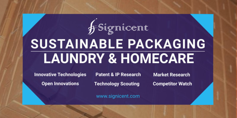 SUSTAINABLE PACKAGING in Laundry and Homecare Packaging - Technology & Market Research