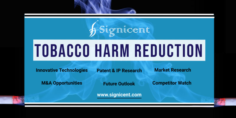 Tobacco Harm Reduction - Innovative Technologies, Key Companies, Patents & Market Research